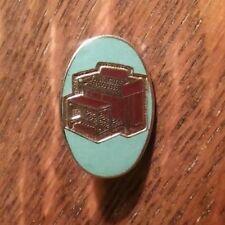 Wurlitzer Electric Organ Lapel Pin - Vintage Home Church Organist Musician Badge