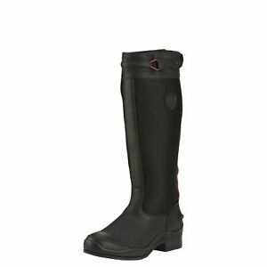 Ariat 10016384 Extreme Tall H2O Insulated Waterproof Back Zip Riding Rain Boots