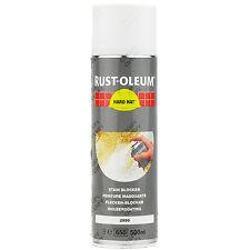 X 1 Rust-oleum Tache Bloqueur Blanc Mate peinture Aérosol Solide Chapeau 2990