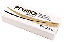 Sculpey Premo White Polymer Clay Oven Bake 8oz 227g 5001