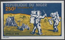 Níger 1972 ** mi.355 u espacio Space Espace Apollo 17