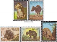 Laos 846-850 (complète edition) neuf avec gomme originale 1985 Animaux