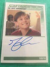 "Complete Star Trek TNG S2 - Joshua Harris ""Timothy"" Autograph Card Signed"