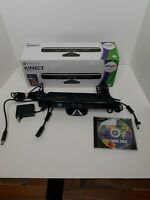 Genuine Microsoft XBOX 360 Kinect Sensor Bar Mo. 1414 and Just Dance 2014 Bundle
