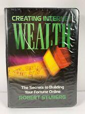 Creating Internet Wealth Secrets to Building Your Fortune Online-Cassette Sealed