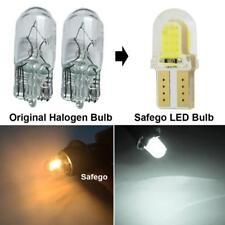 2x T10 194 168 W5W COB 8-SMD SILICA Super Bright LED light Bulb white 12V