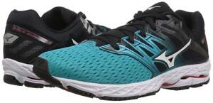 New Women's Mizuno Wave Shadow 2 Running Shoes Size 6-10.5 Teal/Black 411000