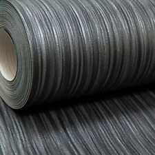 Charcoal Black Dark Grey Mix Plain Thick Textured Wallpaper Free No Match
