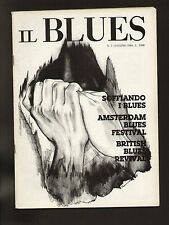 IL BLUES 7/1984 JUNIOR WELLS AMSTERDAM BLUES FESTIVAL KAUKONEN PICKETT HOPKINS