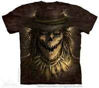 Scarecrow T-Shirt by The Mountain. Halloween Horror Scary Sizes S-5XL NEW