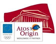 ATOS ORIGIN WORLDWIDE PARTNER ATHENS 2004 OLYMPIC PIN