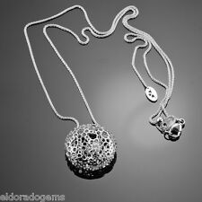 HEARTS ON FIRE - 18K WHITE GOLD 0.25 CT. DIAMOND STARRY PENDANT NECKLACE 20""