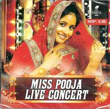 MISS POOJA - LIVE IN CONCERT - BRAND NEW BHANGRA CD SONGS