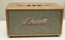Marshall Stanmore Wireless Bluetooth Speaker custom upholstered with leatherette