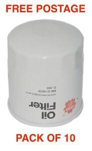 Sakura Oil Filter C-1052 Hyundai Elantra SONATA BOX OF 10 CROSS REF RYCO Z637