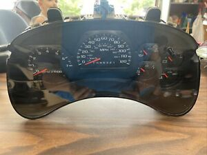 06 07 08 09 Chevy Trailblazer mph speedometer OEM GM # 28007025