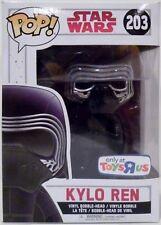 "KYLO REN Star Wars The Force Awakens Pop Movies 4"" Vinyl Bobble Head #203 2015"