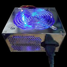NEW 550Watt LED ATX 12V v2.0 20/24pin PCIE SATA 120MM Fan Gaming PC Power Supply