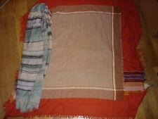 Lot de 3 foulard écharpe belle couleur doux
