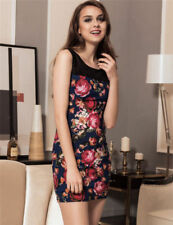 Floral Petite Dresses Bodycon Dress
