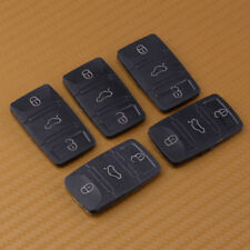 5pcs 3 Button Remote Key Pad Shell For VW Skoda Octavia Seat Leon Flip Key Case