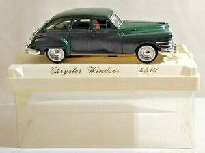 SOLIDO AGE D'OR 1:43 SCALE CHRYSLER WINDSOR - GREEN - #4513 - CASED