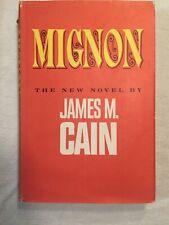 Mignon By James Cain HC 1962 BCE Fiction Post Civil War New Orleans Book