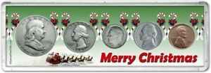 Merry Christmas Coin Gift Set for the year 1950