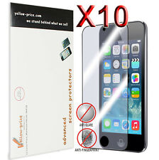 10x Apple iPod Touch 4th Fingerprint Killer Screen Protector -Japanese Material