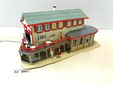 Faller B-219 H0 Cafe Restaurant, mit Beleuchtung & 16 Preiser,1:87,selten & RAR