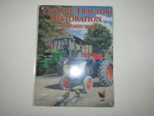 Brand New Metal Wall Sign - Vintage Tractor Restoration - 20 x 15cm