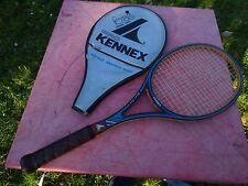 raquette de tennis Pro Kennex Blue Ace avec housse en bois wooden vintage