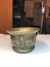 ANTIQUE & OR ANCIENT CHINESE OR OTHER ASIAN AREA BRONZE BOWL BURNER VESSEL ETC.