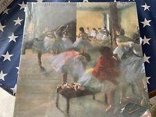 Fine Art Ecole De Danse  Hilaire Germain Edgar Degas Puzzle 500 Pc Complete