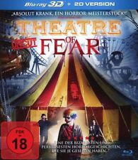 THEATRE OF FEAR ( UNCUT )  3D Blu ray ( Includes 2D ) ( NEW )