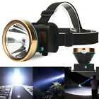 Super Bright LED Headlamp Head Lamp Waterproof Rechargeable Headlight Torch New
