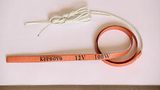 KEENOVO WVO Injection Injector Line Heater Silicon Heating Strip 0.8m 100W 12V