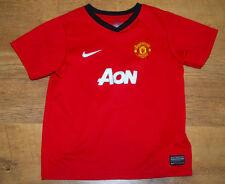 Camiseta Nike Manchester United 2013/2014 Home (para la edad de 6/7 Años)