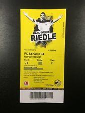 2018/19 – BVB 09 Borussia Dortmund / FC Schalke 04 –Eintrittskarte Sammlerticket