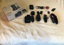 Canon EOS 60D 18.0MP Digital SLR Camera - Black (Kit w/18-135mm & 50mm f1.8 LOT