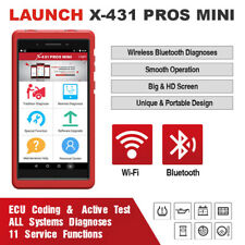 LAUNCH X431 PROS MINI Bluetooth ScanPad Car Diagnostic Tool OBD2 Scanner as V+ V