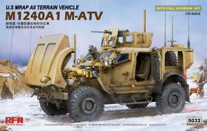 Rye Field Model 1/35 US M1024A1 M-ATV Mrap All Terrain Vehicle