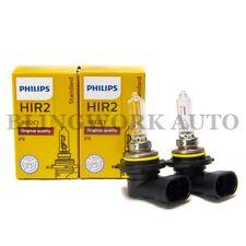 2x Philips OEM HIR2 9012 OEM Standard Factory Replacement Bulb Light 55W 9012C1