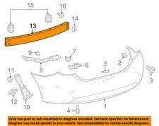 TOYOTA OEM 14-16 Corolla Rear Bumper-Impact Reinforcement Bar Rebar 5217102230