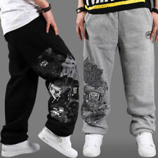 HIP HOP B-BOY Ecko Mens SkateBoarding SweatPants Pure cotton Pants trousers