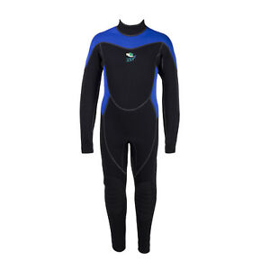 IST 3mm Kids Neoprene Jumpsuit with Super Stretch Panels Snorkel Dive Swim