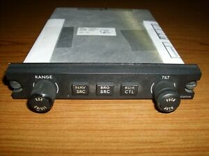 Collins DCP-5000 Display Control Panel 822-1028-011 *Working when removed*