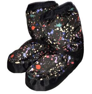 Bloch Women Dance Warm Up Boots Booties Irina & Max Girls Size Large
