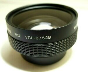 Sony VCL-0752B Wide Conversion Lens X0.7X with 52mm thread AUX