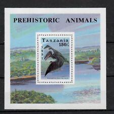 (W1155) TANZANIA, 1991, DINOSAURS, BL. 146, MNH/UM, SEE SCAN